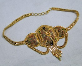 vintage 22kt gold bracelet upper arm bracelet armlet handmade gold jewelry - £1,707.52 GBP