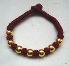 vintage 22k gold beads bracelet bangle cuff rajasthan india handmade - $197.01