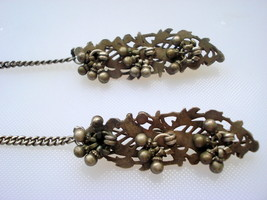 vintage antique tribal old silver hairpin hair ... - $127.71