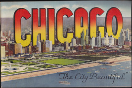 Chicago The City Beautiful 1930s Curt Teich 64 pages - $13.99