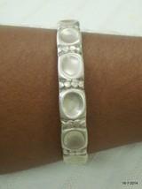 vintage antique tribal old silver cuff bracelet bangle unisex gypsy hippie - $183.15