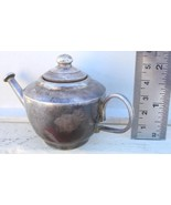 ANTIQUE STERLING OLD SILVER WATER POT RAJASTHAN INDIA - $289.08