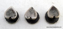 VINTAGE ANTIQUE TRIBAL OLD SILVER BUTTON FOR KURTA - $88.11