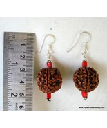 ethnic silver rudraksha earrings rajasthan india - $67.32