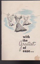 With the Greatest of Ease 1943 Booklet General ... - $17.98