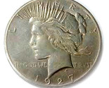 O brbqu s peace dollar 1927 replica medal 27 g thumb155 crop