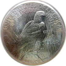 Ihvlu s peace dollar 1927 replica medal 27 g thumb200