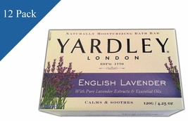 Yardley London English Lavender Bath Soap Lot o... - $29.30