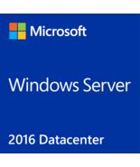Windows Server 2016 Datacenter Version Full Retail - $35.90