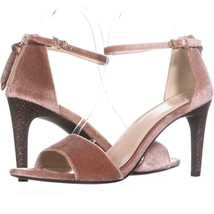 Cole Haan Clara Grand Ankle-Strap Dress Sandals 827, Nude/Glitter, 9.5 US - $44.15