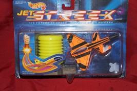 VTG NEW HOT WHEELS JET STREEX MACHINES 1991 MATTEL nos orange black 4760 - $12.86