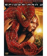 Spider-Man 2 DVD, 2004, 2-Disc Set, Special Edition Fullscreen - $8.98
