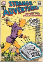 Strange Adventures Comic Book #142 Dc Comics 1962 Very GOOD-/VERY Good - $16.88