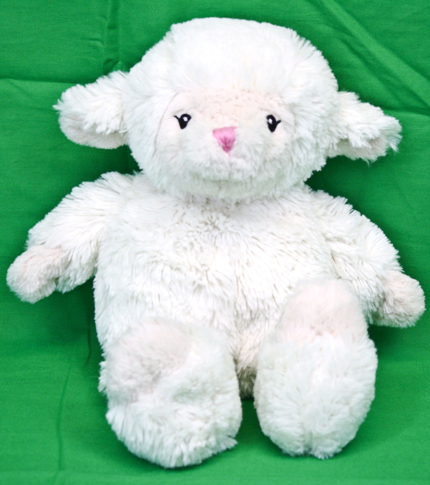 "First Impressions Lamb Sheep 13"" Plush White Cream Fluffy ..."