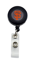 SAN Francisco Giants Retractable Badge Reel Id Ticket Clip MLB - $7.99