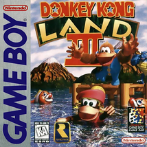 Donkey Kong Land III 3 GB NINTENDO GameBoy Video Game - $10.97