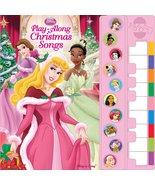 Disney Princess Piano Songbook: Play-Along Christmas Songs Editors of Pu... - $14.85