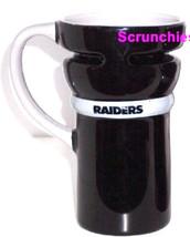 Oakland Raiders Travel Coffee Mug Cup Black Pewter NFL Football New - $39.95