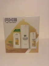 New Men's Axe NIB 3 Piece Gift Set Body Wash Deodorant And Spray Smell Good - $16.82