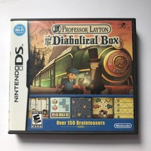 BOX ONLY !!!Professor Layton and the Diabolical Box (NO GAME.) - $3.99