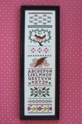Nn144b brown bird sampler