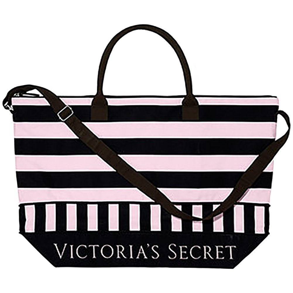 How To Make A Book Cover Out Of A Victoria S Secret Bag : Victoria s secret pink black stripe and similar items