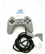 Vintage Sony Playstation PS1 Digital Controller SCPH-1080 - Gray OEM - Used - $14.80