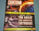 Countdown the sky's on fire / The Great Los Angeles EarthQuake ~ FREE SHIPPING ~