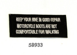 Keep Your Bike in Good Repair Motorcycle Iron o... - $5.99