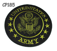 "United States Army 10.5"" Round Center Patch Gre... - $19.99"