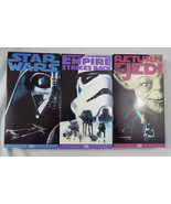Star Wars Trilogy (VHS, 1990, 3-Tape Set) Pre- ... - $38.60