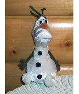 """Disney Frozen Super Star OLAF Snowman Plush 8"""" Looking for Snow-Loving Home - $4.29"""