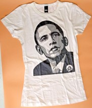 2008 Nos Obey Giant Obama 2008 Womens Xs Authentic Cream Shepard Fairey Usa - $97.01