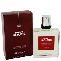 HABIT ROUGE by Guerlain After Shave 3.4 oz - $57.95