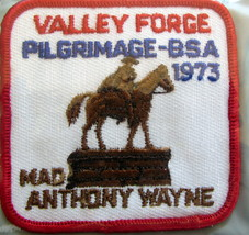 Boy Scouts - 1973 Valley Forge Pilgrimage patch - $9.18