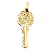 14K Yellow Gold Key Pendant - $149.99