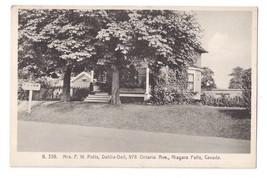 Canada Niagara Falls Lodge Mrs Potts Dahlia Dell Rooms Historic Guest House - $12.50