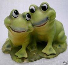 1950s Little Lovin' Leap Frog Japan Porcelain Figurine - $19.99