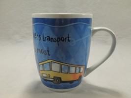 History & Heraldry Brilliant Bus Driver Coffee Mug Cup School Precious Cargo - $8.99