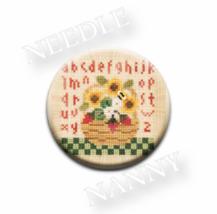Summer Basket Needle Nanny needle minder cross ... - $12.00