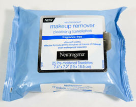Neutrogena Makeup Remover Cleansing - 25 Towelettes - Fragrance Free - $6.95