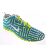 NIKE FREE 5.0 TR FIT 4 PRT WOMEN'S GREEN/WHIT TRAINING SHOES, #629832-302 $110. - $59.83