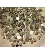 60 Swarovski Clear Crystal Silver Foiled Flat B... - $4.99