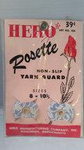 Vintage Hero Rosette Non Slip Yarn Guard for Knitting Needles 8 to 10-1/2 - $5.99