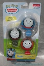 New Fisher Price First Thomas & Friends Rail Rollers 3-Pc Set Emily James Thomas - $17.33