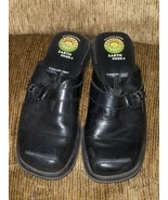 Earth Shoes Black Leather 6319804 Geltron 2000 Womens Size 8.5  - $19.00
