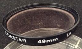 Coastar 49mm 1A Skylight Circular Filter for Camera Lens & Case Made in ... - $5.88
