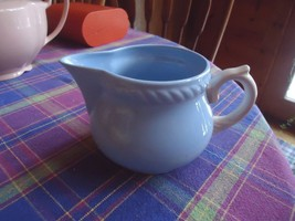 Homer Laughlin Kraft-Blue Pitcher - $10.89