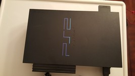 Used Sony PlayStation 2 Black, 8MB  Memory Card Attached - $45.40