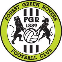 Forest Green FC vinyl sticker shaped contoured football 120mm - $4.46+